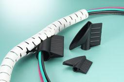 schrumpfschlauch kabelbinder kabel kennzeichnung netproshop becker gmbh. Black Bedroom Furniture Sets. Home Design Ideas