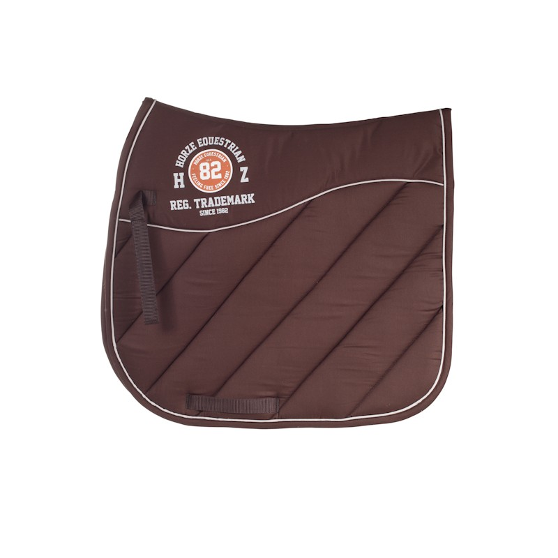 Dressur schabracke schwarz braun weiss gepolstert ebay - Schabracke braun ...