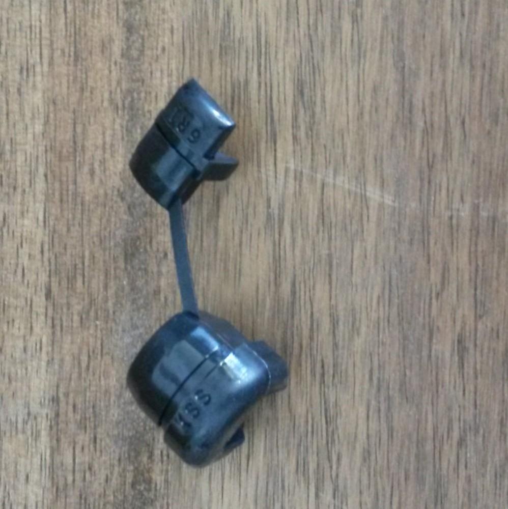 kabel geh use zugentlastung aus nylon 10tlg schwarz kabel. Black Bedroom Furniture Sets. Home Design Ideas
